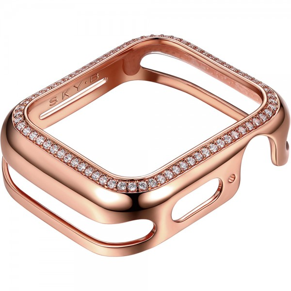 SKY B Halo Apple Watch Case Rose Gold