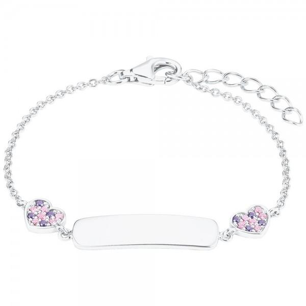 Prinzessin Lillifee Ident Armband mit Herzen