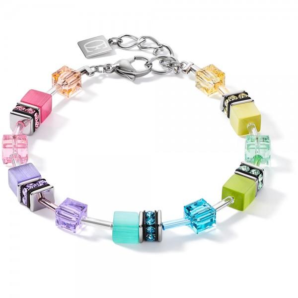 GeoCUBE® Armband Medium Fresh Pastell Multicolor
