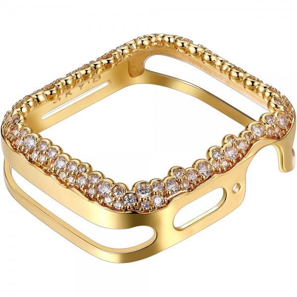 SKY B Champagne Bubbles Apple Watch Case Gold