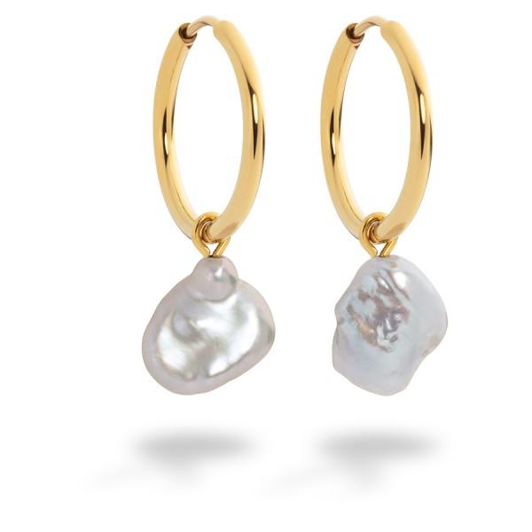 Paul Hewitt Ohrringe Treasure Pearl Pendant