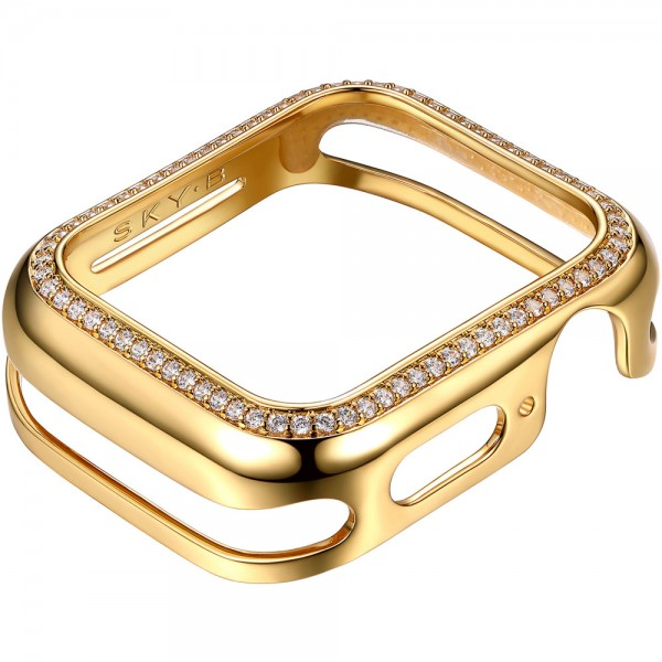 SKY B Halo Apple Watch Case Gold