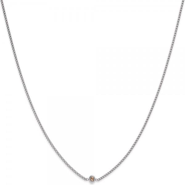 Paul Hewitt Halskette Rainbow Stone Silber