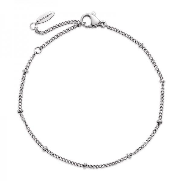 Paul Hewitt Armband Horizon Ball Chain Silber