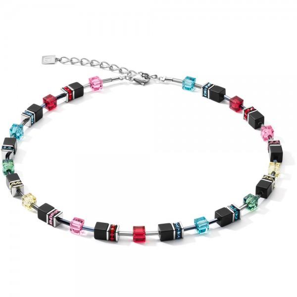 GeoCUBE® Halskette Onyx Multicolor Pop Art