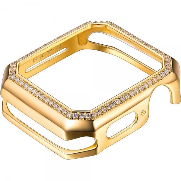 SKY B Deco Halo Apple Watch Case Gold