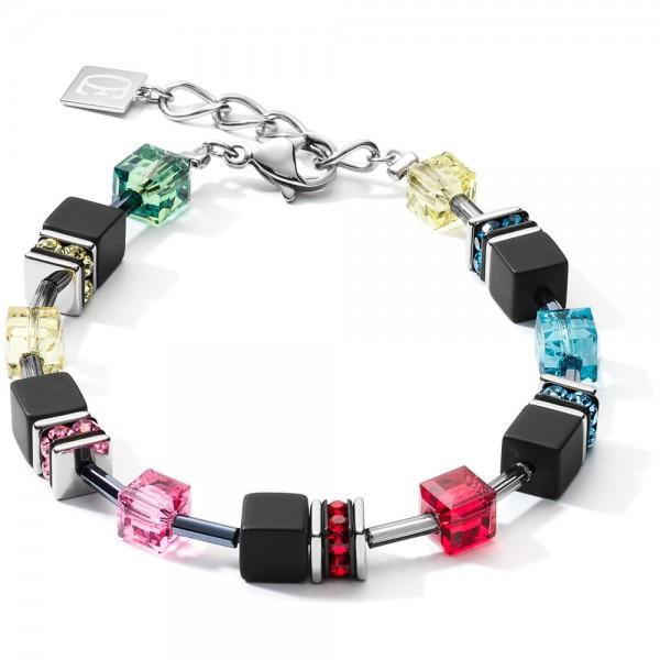 GeoCUBE® Armband Onyx Multicolor Pop Art