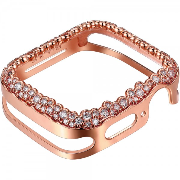 SKY B Champagne Bubbles Apple Watch Case Rose Gold