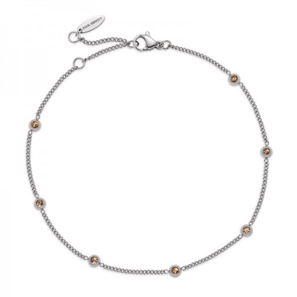 Paul Hewitt Armband Rainbow Stones Silber