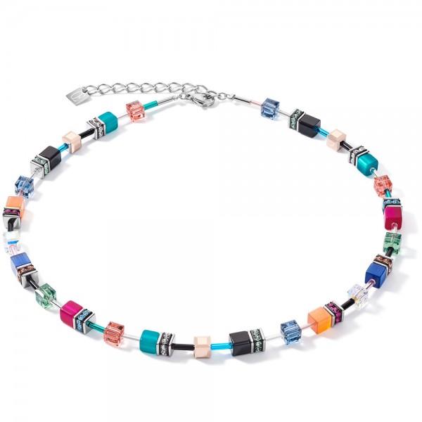 GeoCUBE® Halskette Multicolor Ethno